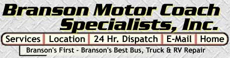 Branson Motor Coach, Branson Missouri - Branson's first - Branson's Best  Truck and Bus Repair